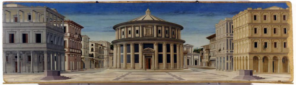 PROSPETTIVA_Piero_della_Francesca_-_Ideal_City_-_Galleria_Nazionale_delle_Marche_Urbino_2