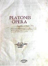 PLATONIS OPERA Venezia 1517