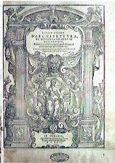 S. SERLIO Primo libro d'architettura Venezia, 1566