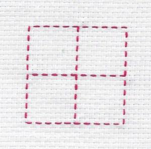 quadrato-con-croce